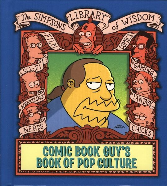 Datei:Comic Book Guy's Book of Pop Culture.jpg