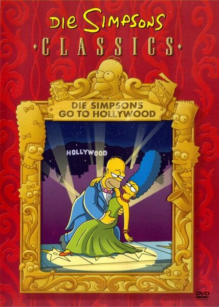 Datei:Die Simpsons go to Hollywood (Classic DVD).jpg